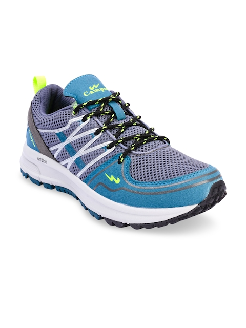 Campus Men Blue Running Shoes
