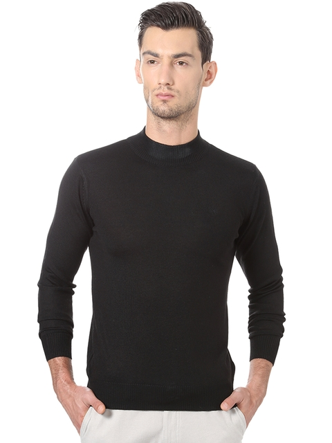 Allen Solly Men Black Sweater