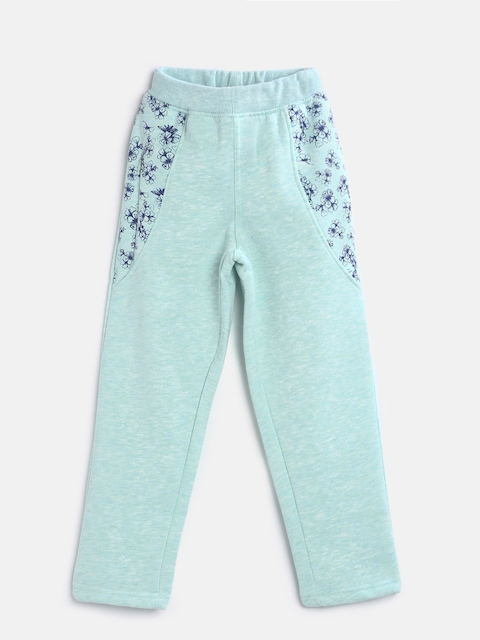 Sweet Dreams Girls Blue Printed Lounge Pants GP-6309G7
