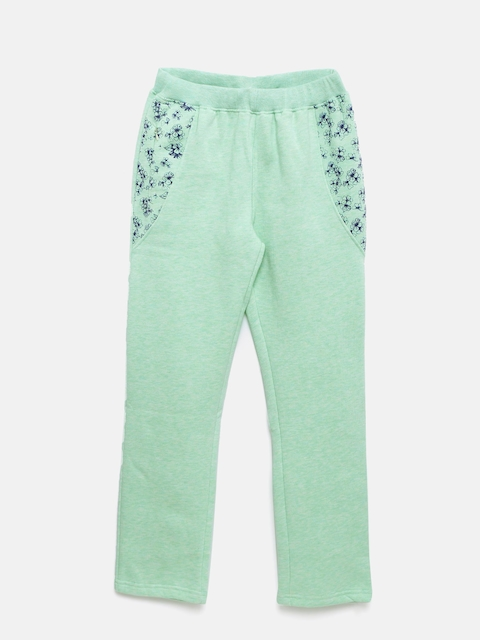 SDL by Sweet Dreams Girls Mint Green Lounge Pants GP-6309G7