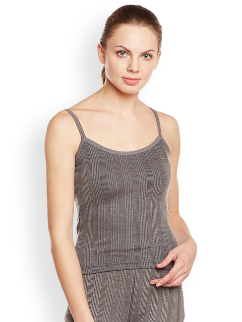 VIMAL Grey Thermal Cami Top