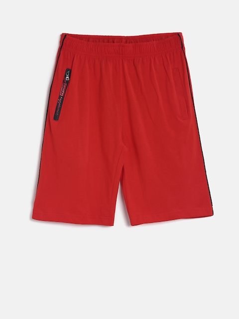 SDL by Sweet Dreams Boys Red Lounge Shorts BS-5950G7