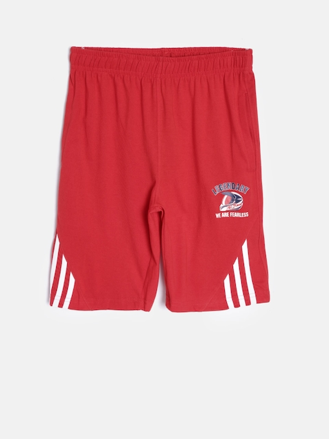 SDL by Sweet Dreams Boys Red Lounge Shorts F-BS-0001