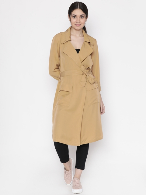 FOREVER 21 Brown Trench Coat