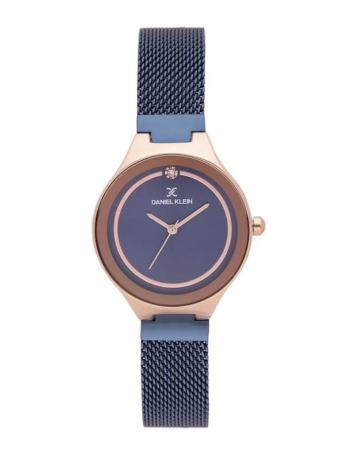 Daniel Klein Premium Women Navy Blue Analogue Watch DK11468-5