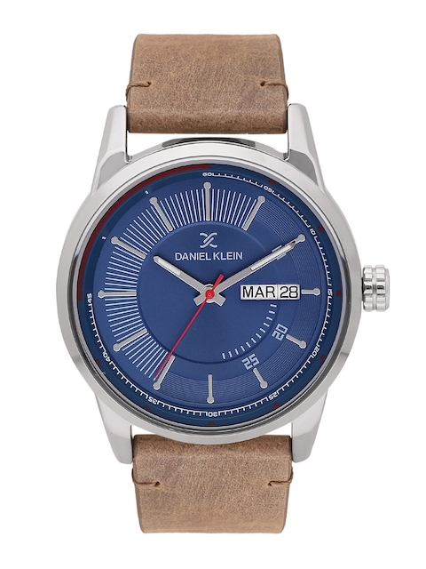 Daniel Klein Men Blue Analogue Watch DK11493-6