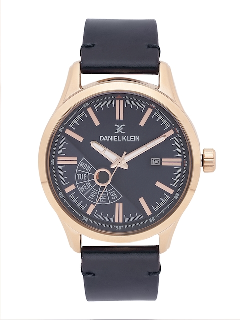 Daniel Klein Men Navy Analogue Watch DK11499