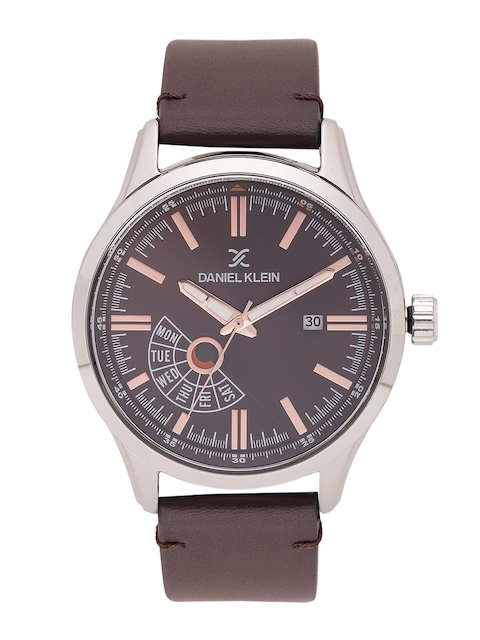 Daniel Klein Men Brown Analogue Watch DK11499