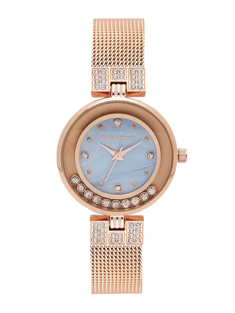 GIORDANO Women Blue Analogue Watch 2837-66