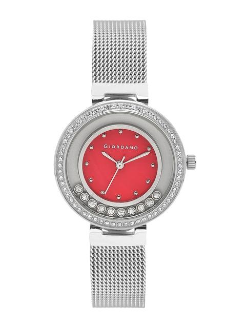 GIORDANO Women Red Analogue Watch 2838-11