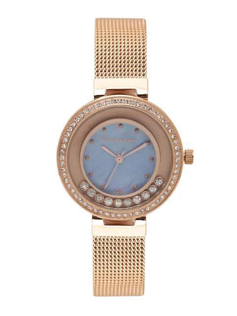 GIORDANO Women Blue Analogue Watch 2838-66