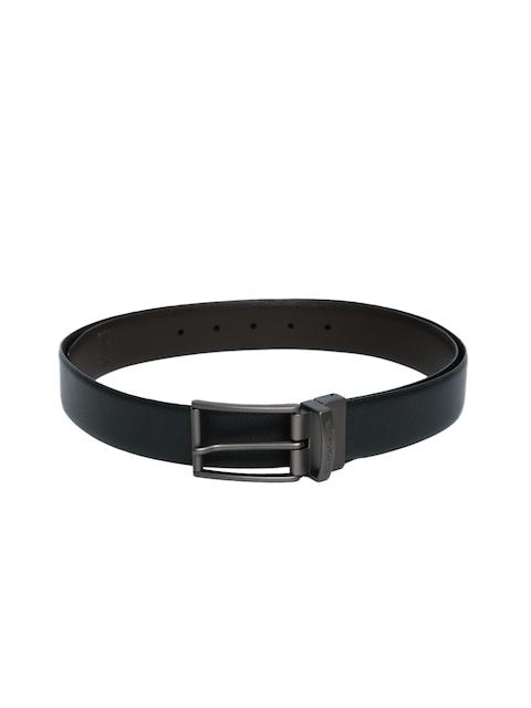 U.S. Polo Assn. Men Black & Brown Reversible Leather Belt