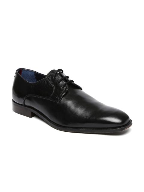 Bata Men Black Albert Derby Formal Shoes
