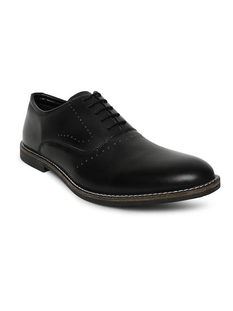 Bata Men Black Leather Formal Brogues