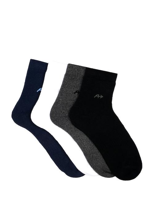 Arrow Men Pack of 4 Ankle-length Socks