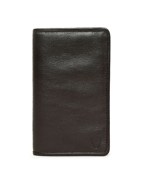 Hidesign Men Brown Leather Two Fold Wallet