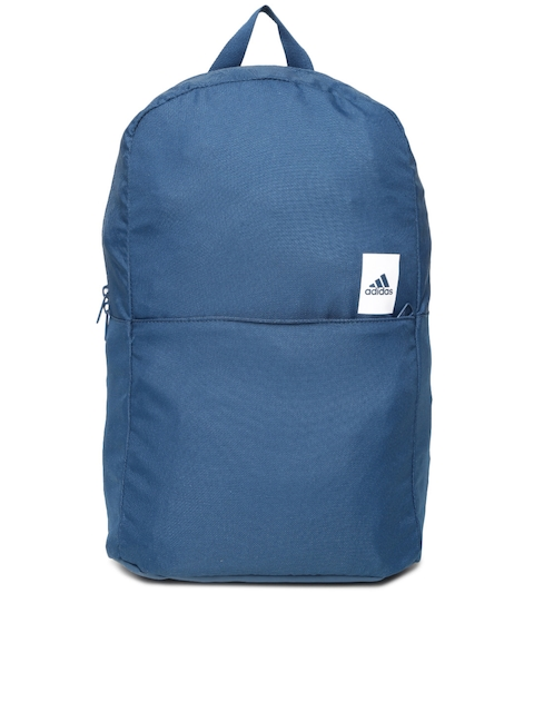 Adidas Unisex Teal Blue Solid Backpack  available at myntra for Rs.1599