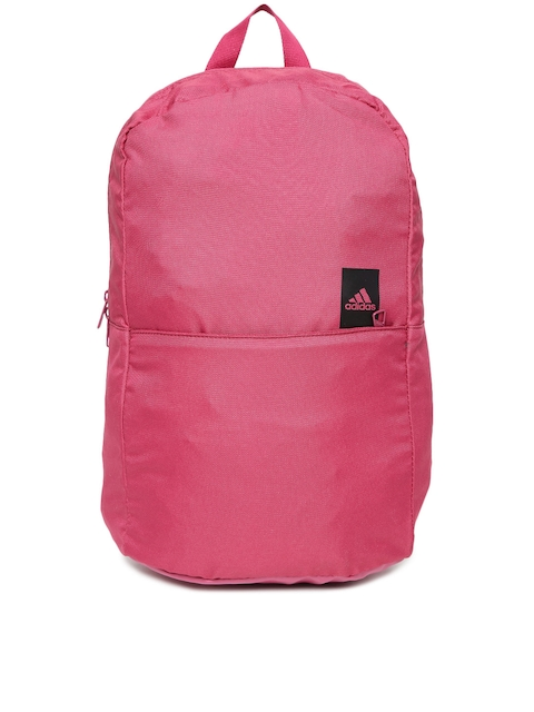 Adidas Unisex Red Solid Backpack  available at myntra for Rs.1599