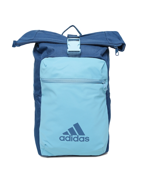 Adidas Unisex Blue Solid Backpack