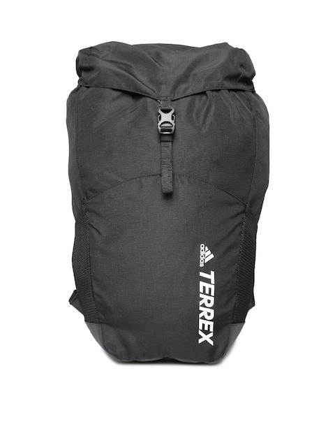 6a2eca5e3d66 ADIDAS Unisex Black Solid Backpack