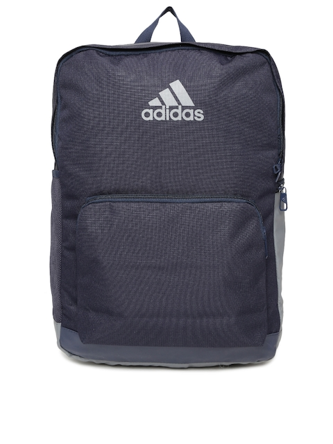 ADIDAS Unisex Navy Blue Solid Backpack