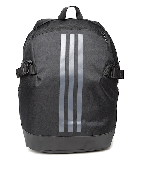 Adidas Unisex Black BP Power IV L Brand Logo Backpack