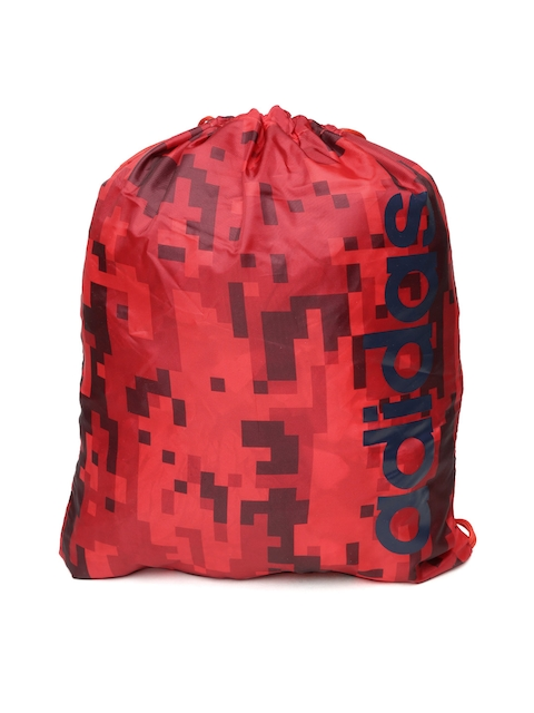 Adidas NEO Men Red GS AOP Daily Printed Backpack  available at myntra for Rs.599