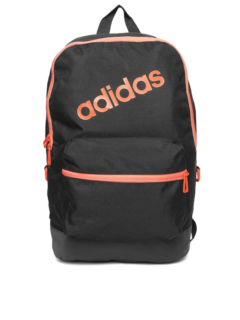 Adidas NEO Men Black Daily Brand Logo Backpack  available at myntra for Rs.959