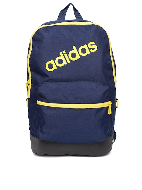 Adidas NEO Men Navy Blue Daily Brand Logo Backpack  available at myntra for Rs.959