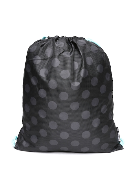 Adidas NEO Women Black & Grey GS Daily Geometric Backpack  available at myntra for Rs.539