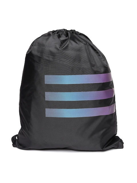 Adidas NEO Men Black GS NEOCITY Brand Logo Backpack  available at myntra for Rs.599