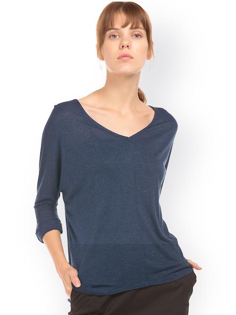 Arrow Women Blue Striped Top