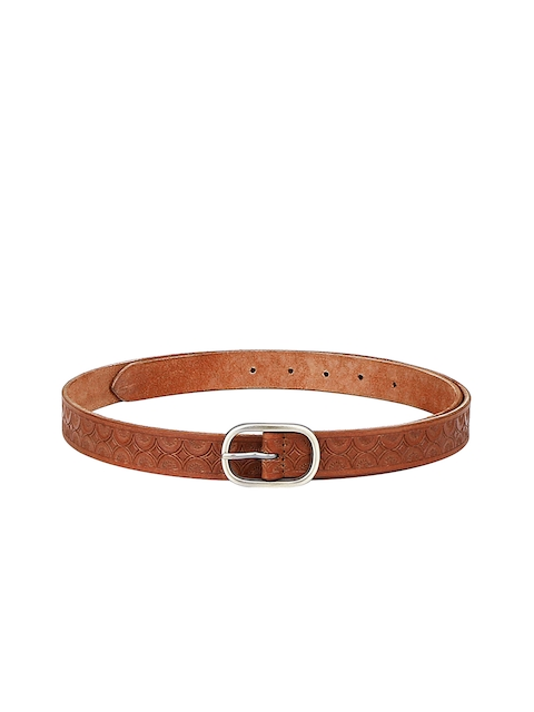 Aditi Wasan Women Tan Solid Belt
