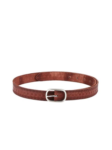 Aditi Wasan Women Brown Solid Belt