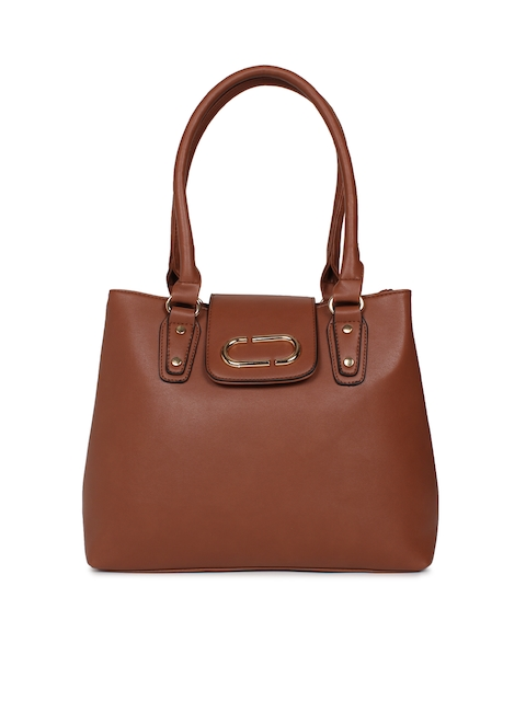 Mast & Harbour Brown Solid Shoulder Bag