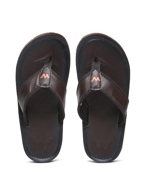 Wildcraft Men Brown Ooze Flip-Flops