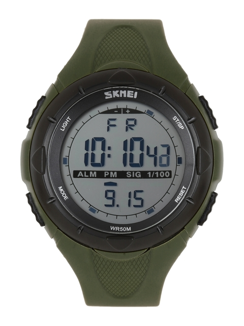 Skmei Men Olive Green Digital Watch1025GRN