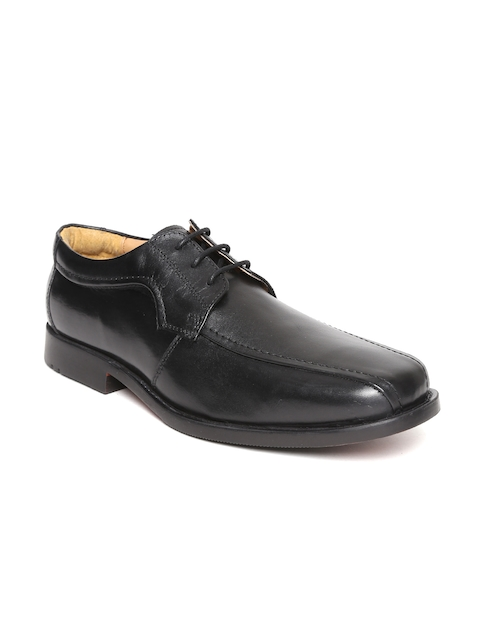 HATS OFF ACCESSORIES Men Black Leather Derbys