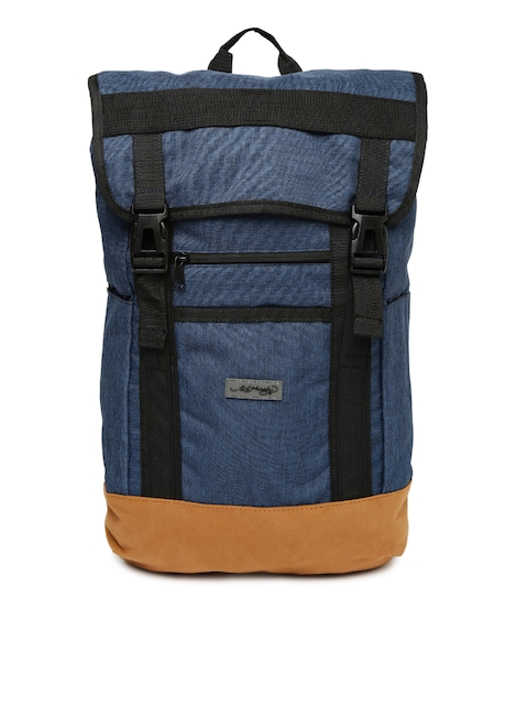 Ed Hardy Unisex Blue Solid Laptop Backpack  available at myntra for Rs.2799