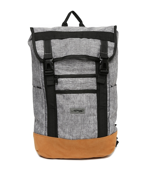 Ed Hardy Unisex Grey Backpack  available at myntra for Rs.2799