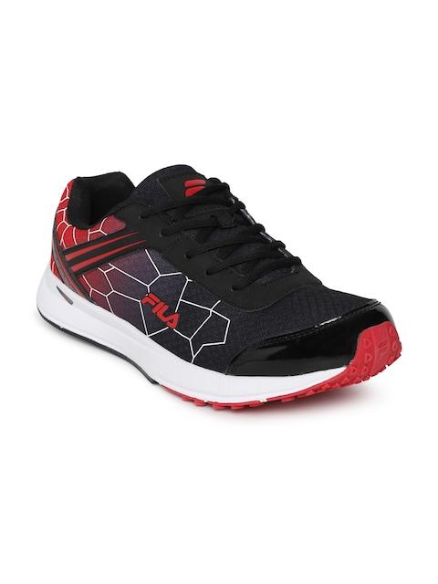FILA Men Black Aero Speed Running Shoes