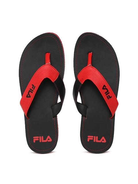 Fila Men Red & Black SELECT Flip-Flops