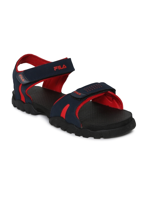 Fila Men Navy Max Sports Sandals  available at myntra for Rs.519
