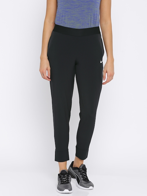 Nike Black Slim Fit AS W NK BLISS VCTRY Track Pants
