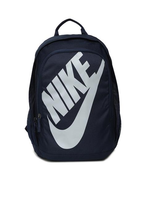 Nike Unisex Navy Blue Brand Logo Backpack