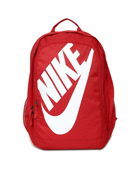Nike Unisex Red Brand Logo Backpack