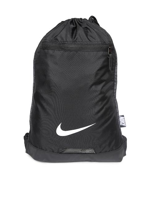 Nike Men Black Alpha GMSK Backpack  available at myntra for Rs.895