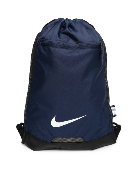 Nike Men Blue Solid Alpha Adapt Backpack  available at myntra for Rs.895
