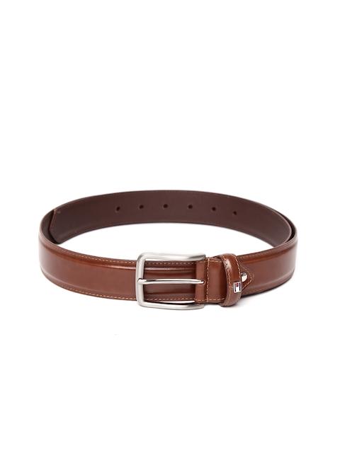 Tommy Hilfiger Men Tan Solid Belt