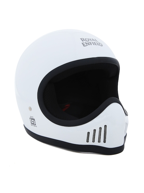 Royal Enfield Unisex White Urban Trooper Helmet RRGHEH000063